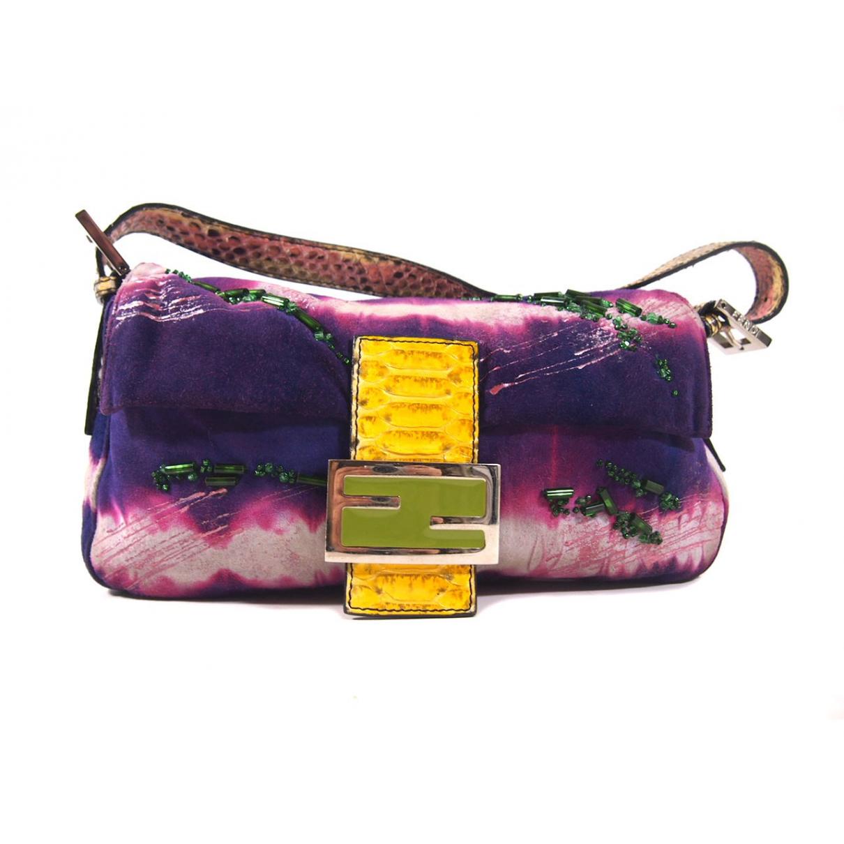 Fendi \N Suede handbag for Women \N