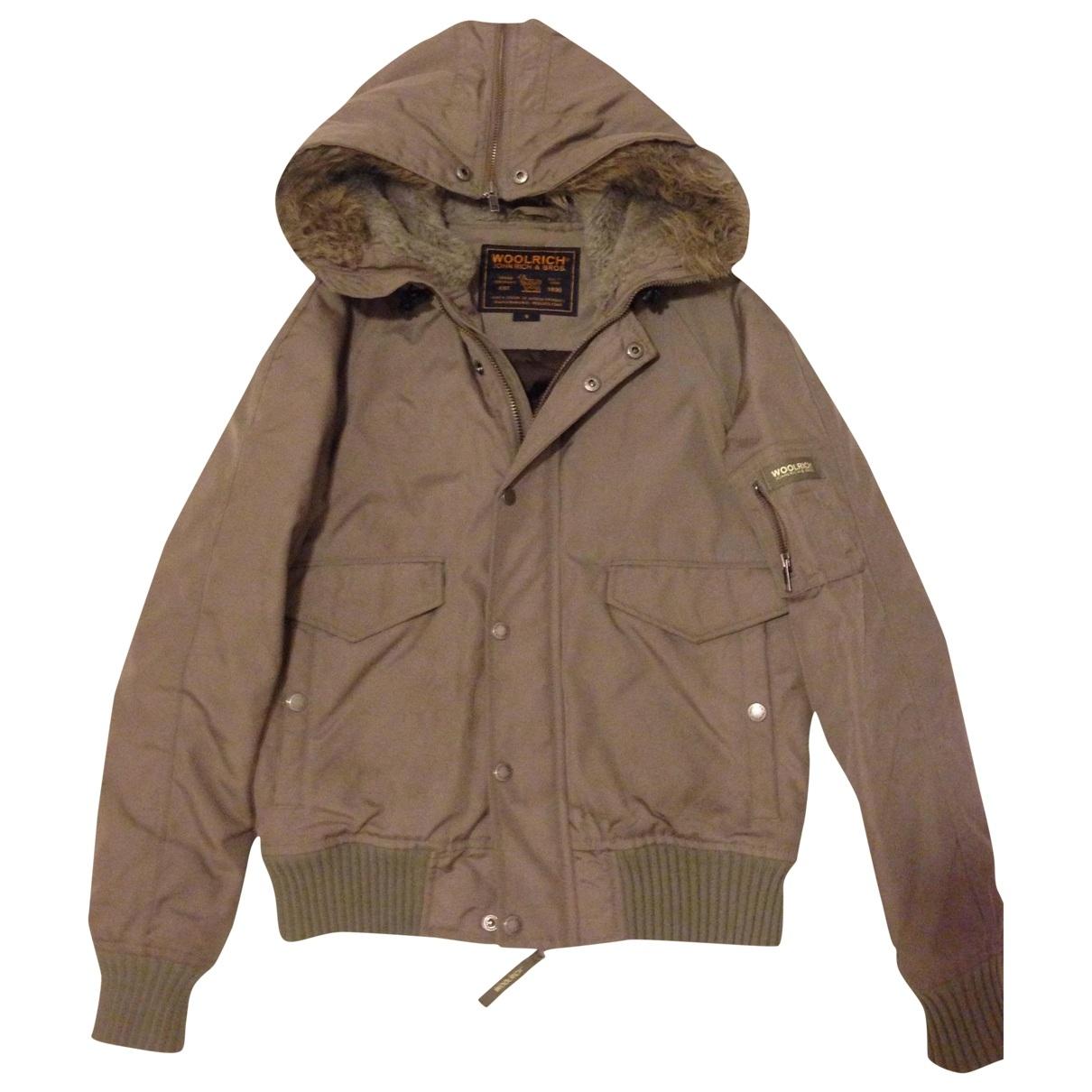 Woolrich \N Jacke in  Gruen Polyester