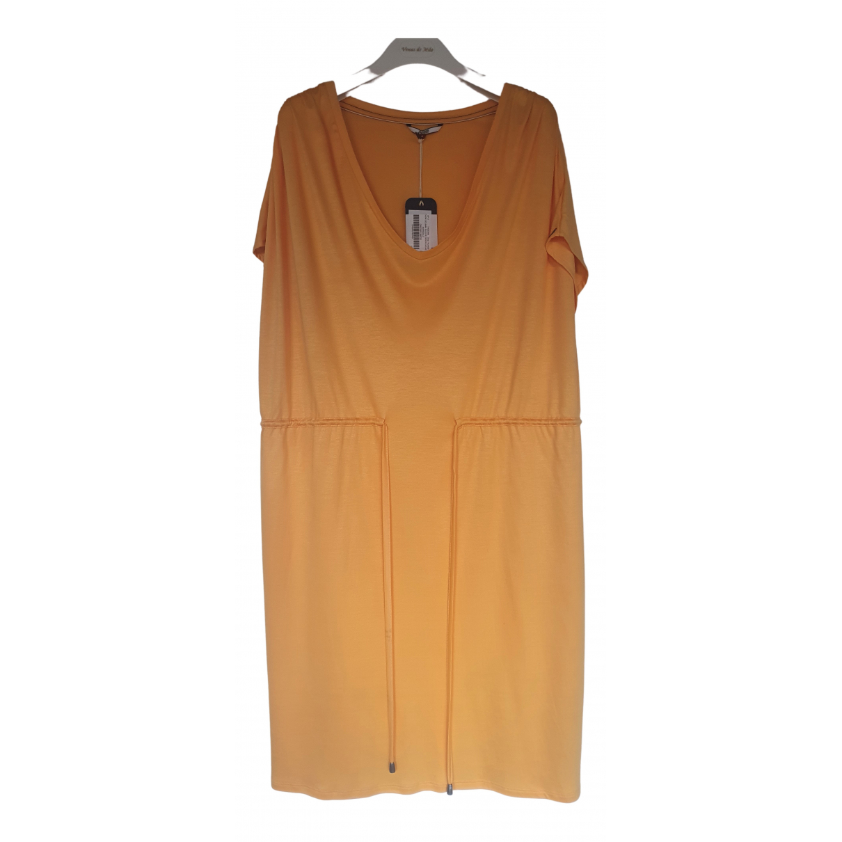 Tommy Hilfiger \N Kleid in  Gelb Viskose