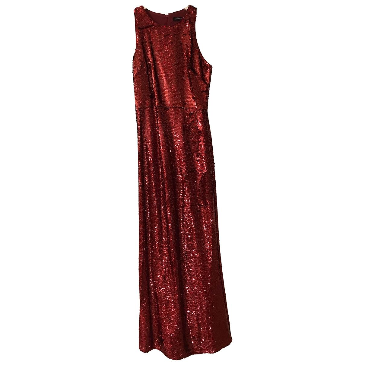 Maxi vestido de Con lentejuelas Karen Millen