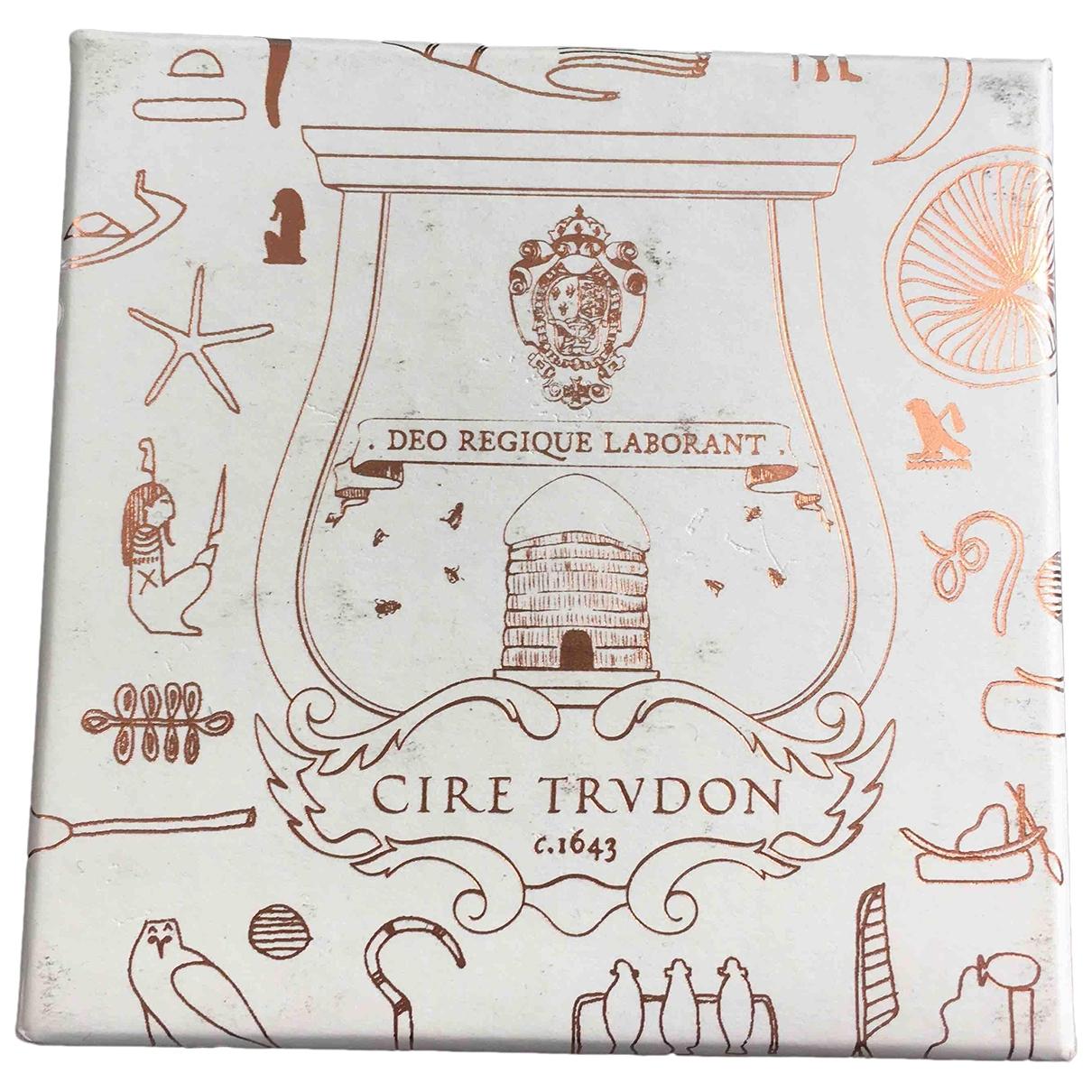 Cire Trudon - Objets & Deco   pour lifestyle en verre - orange