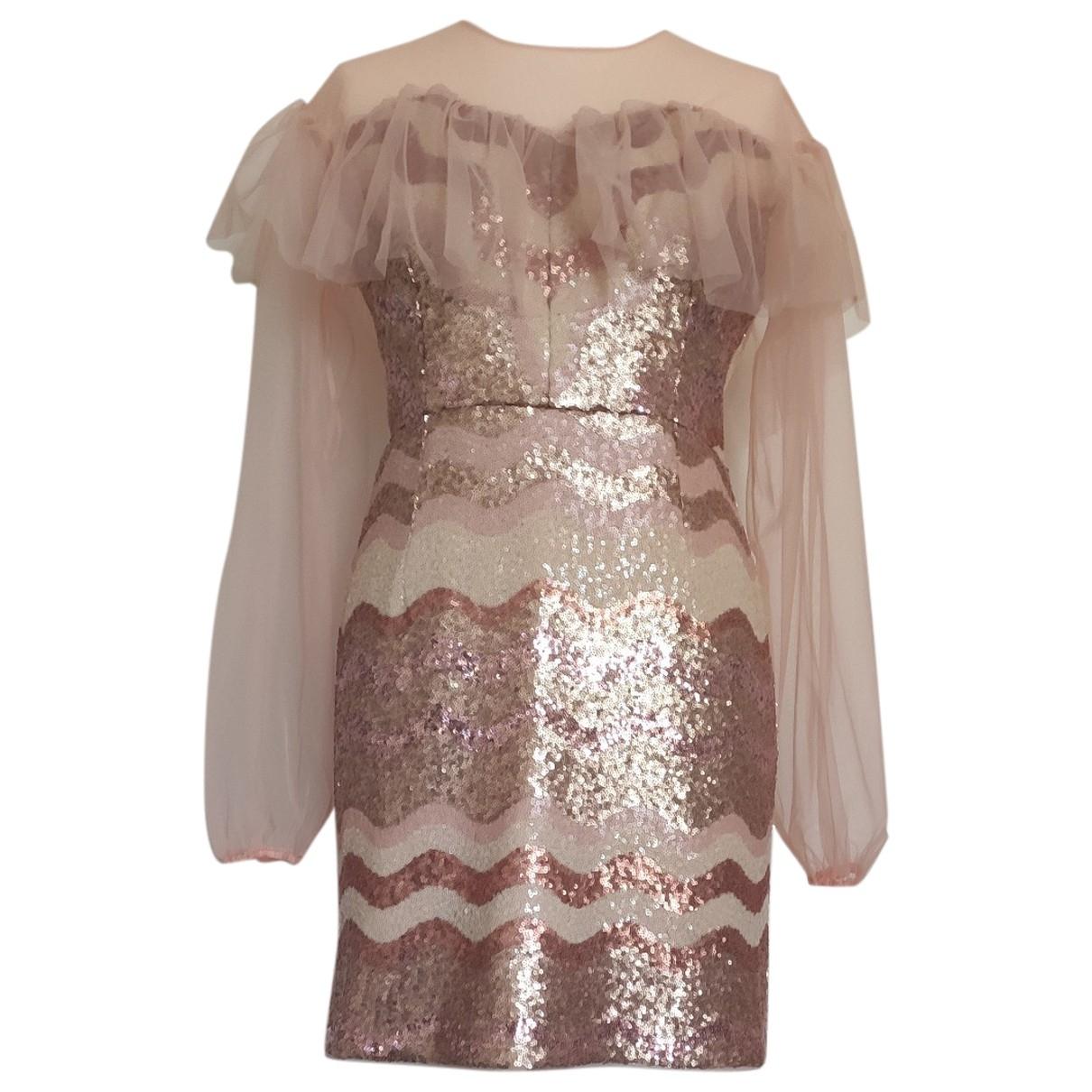 Three Floor Fashion \N Kleid in  Bunt Mit Pailletten