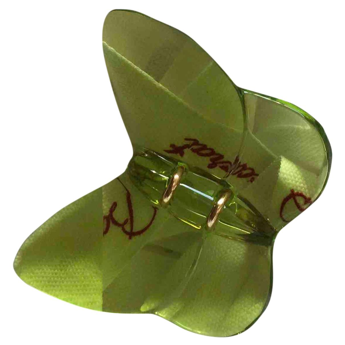 Baccarat - Broche   pour femme en cristal - vert