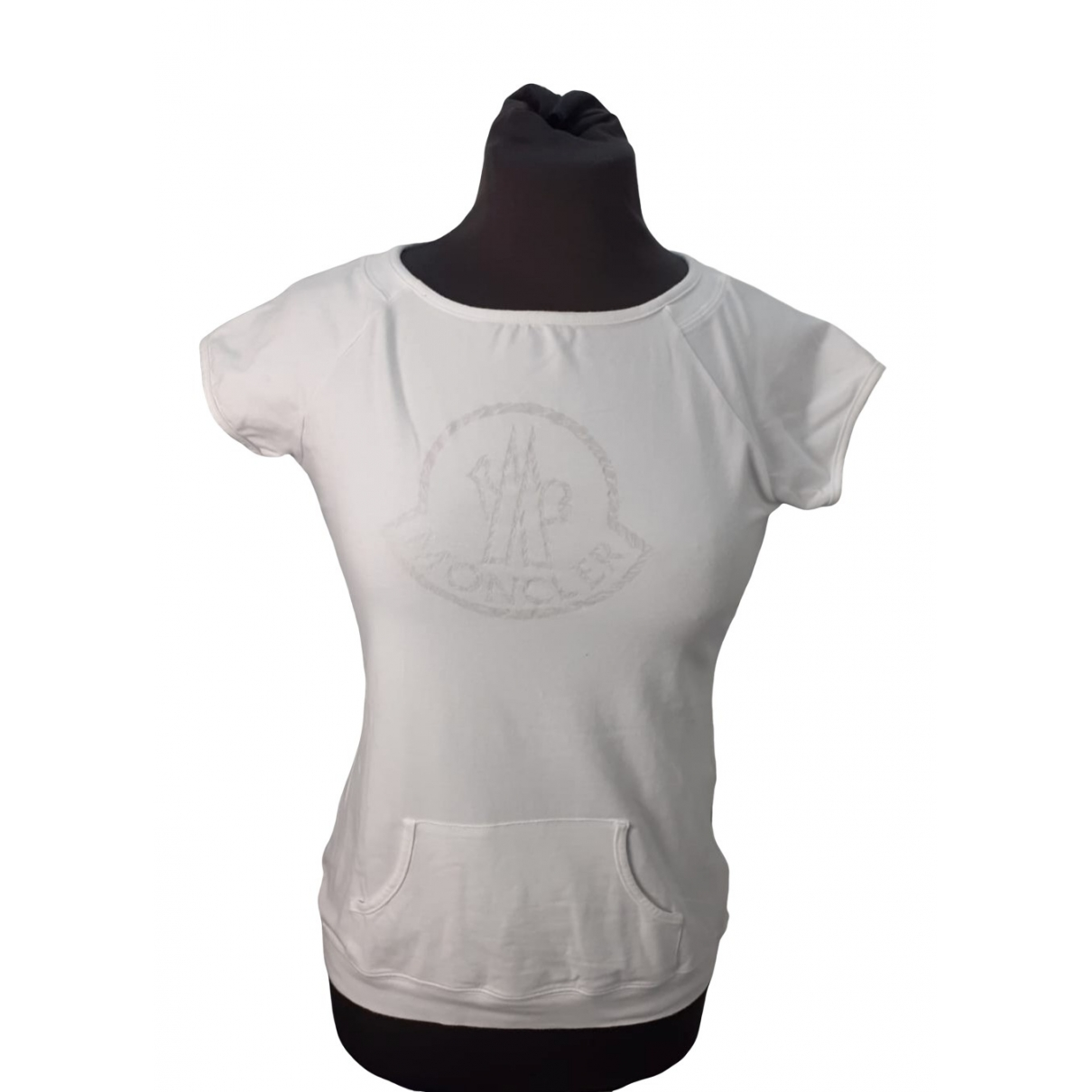 Moncler \N White Cotton  top for Women XS International