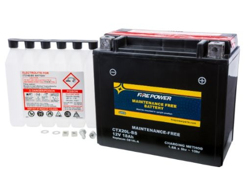Fire Power Parts 49-2273 Battery Ctx20l-Bs Maintenance Free 49-2273