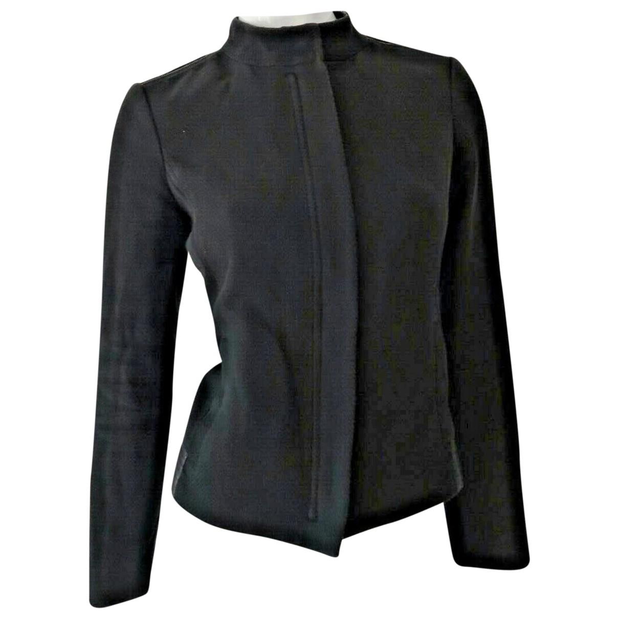 Vince - Veste   pour femme en cuir - noir