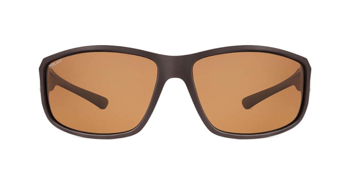 Polar PL 3004 Polarized 430 Men's Sunglasses Brown Size 62