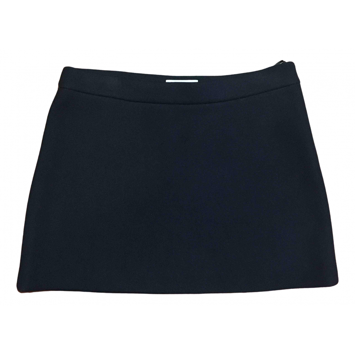 Prada \N Black Wool skirt for Women 46 IT