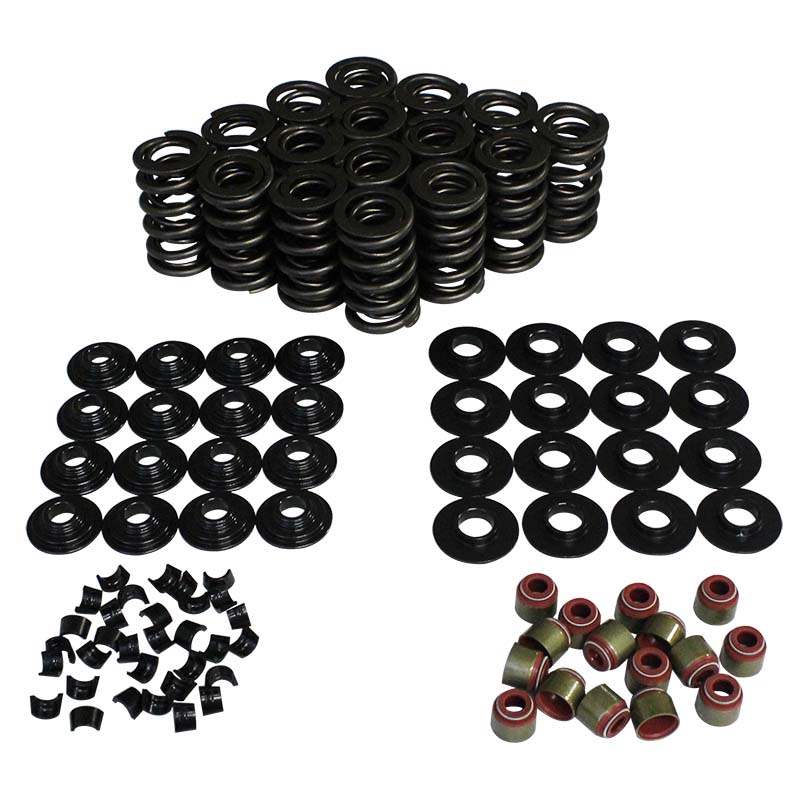 GM Gen III Dual Valve Spring & Retainer Kit; 1.305 7 Degree Howards Cams 98118-K1 98118-K1