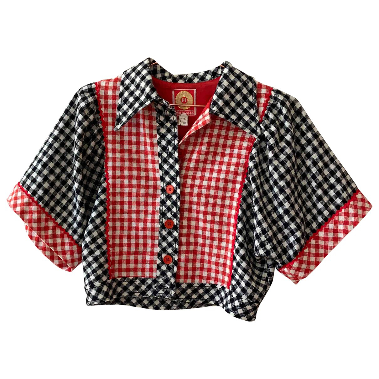 Non Signé / Unsigned \N Multicolour Tweed  top for Women 40 FR