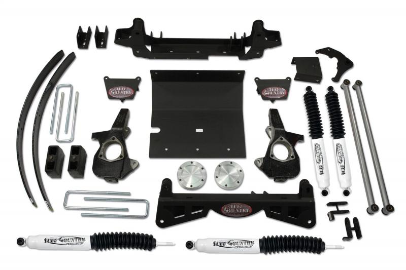 Tuff Country 16959KN Complete Kit (w/SX8000 Shocks)-6in.