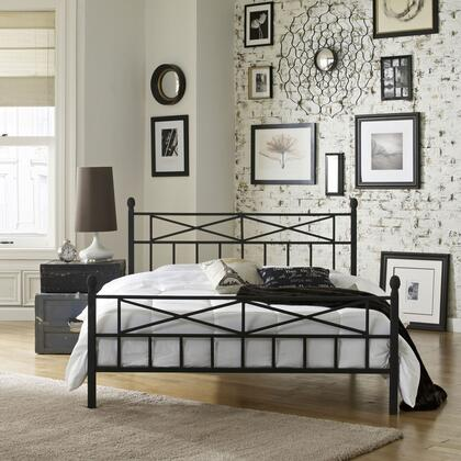Lafayette Collection MFP01453QN Queen Size Platform Bed with Metal Frame and Modern Style in