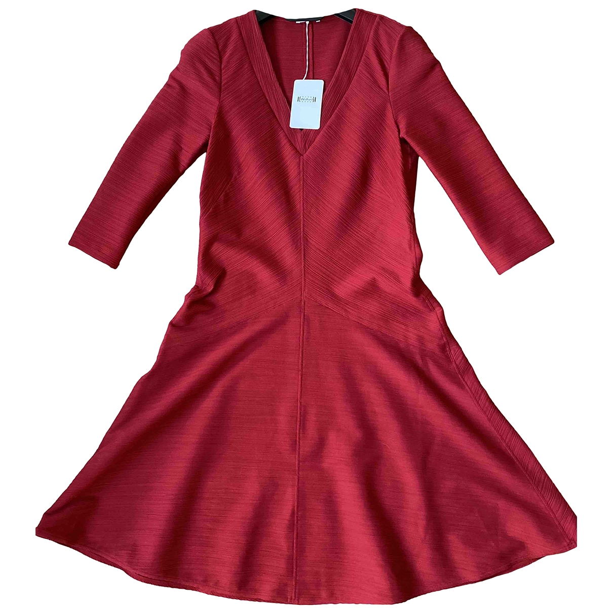 Wolford - Robe   pour femme - rouge