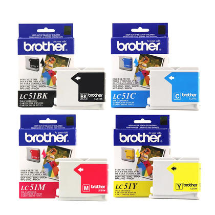 Brother DCP-130C originale cartouches encre bk/c/m/y, ensemble de 4 paquet