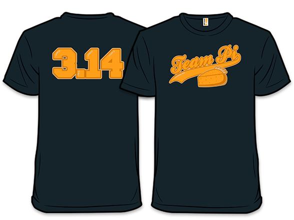 Team Pi T Shirt