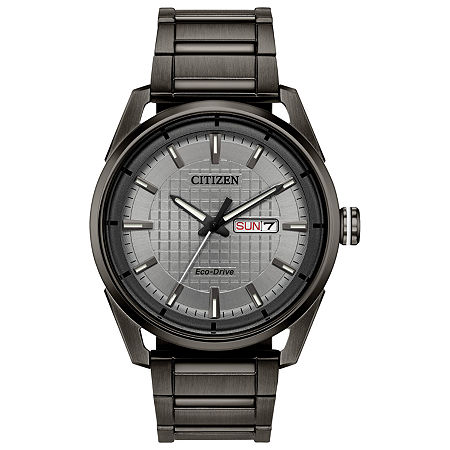Drive from Citizen Mens Gray Stainless Steel Bracelet Watch-Aw0087-58h, One Size , No Color Family