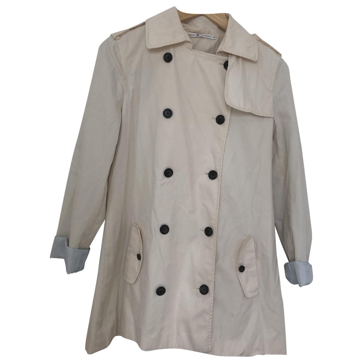 Tommy Hilfiger N Beige Cotton jacket for Women M International