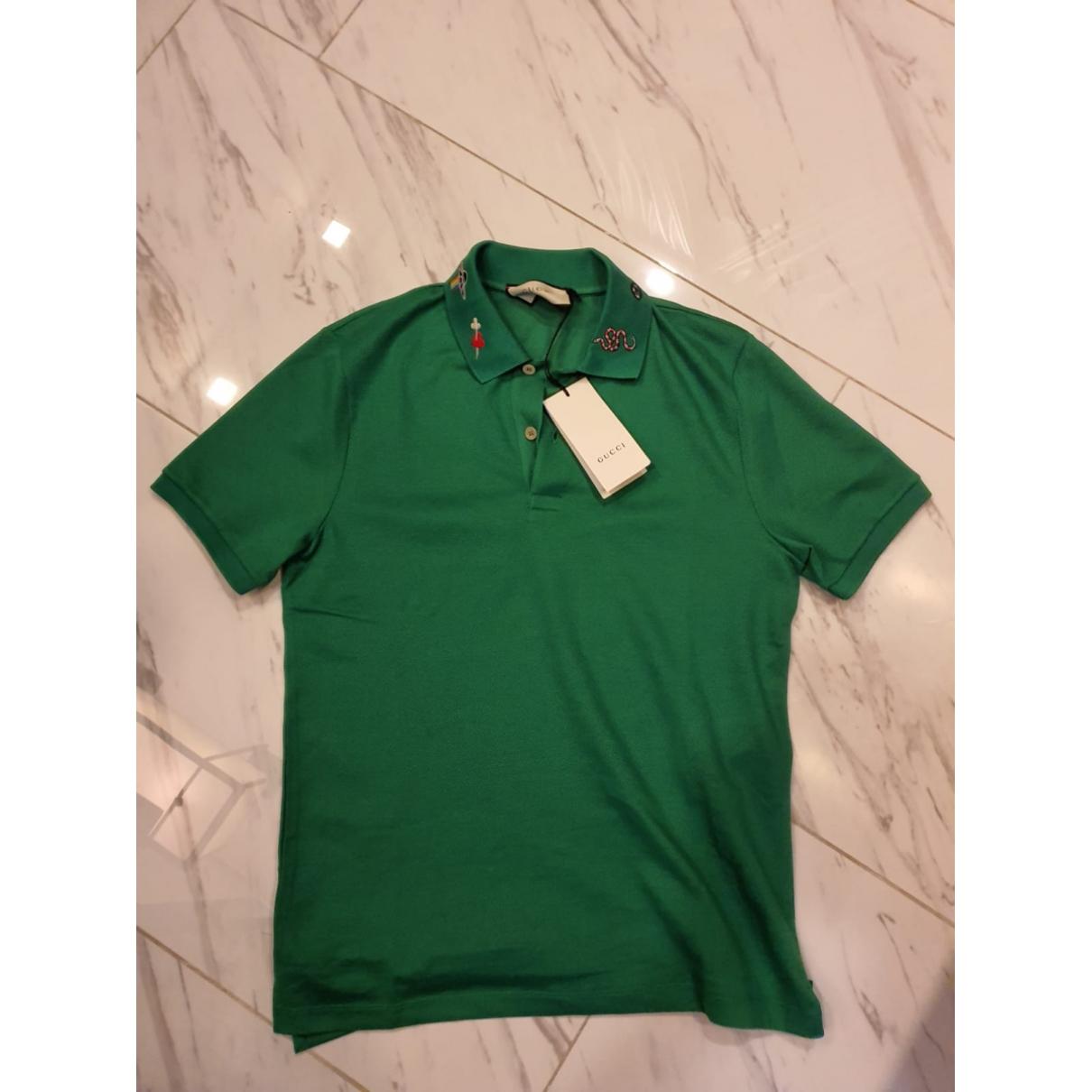 Gucci - Polos   pour homme - vert
