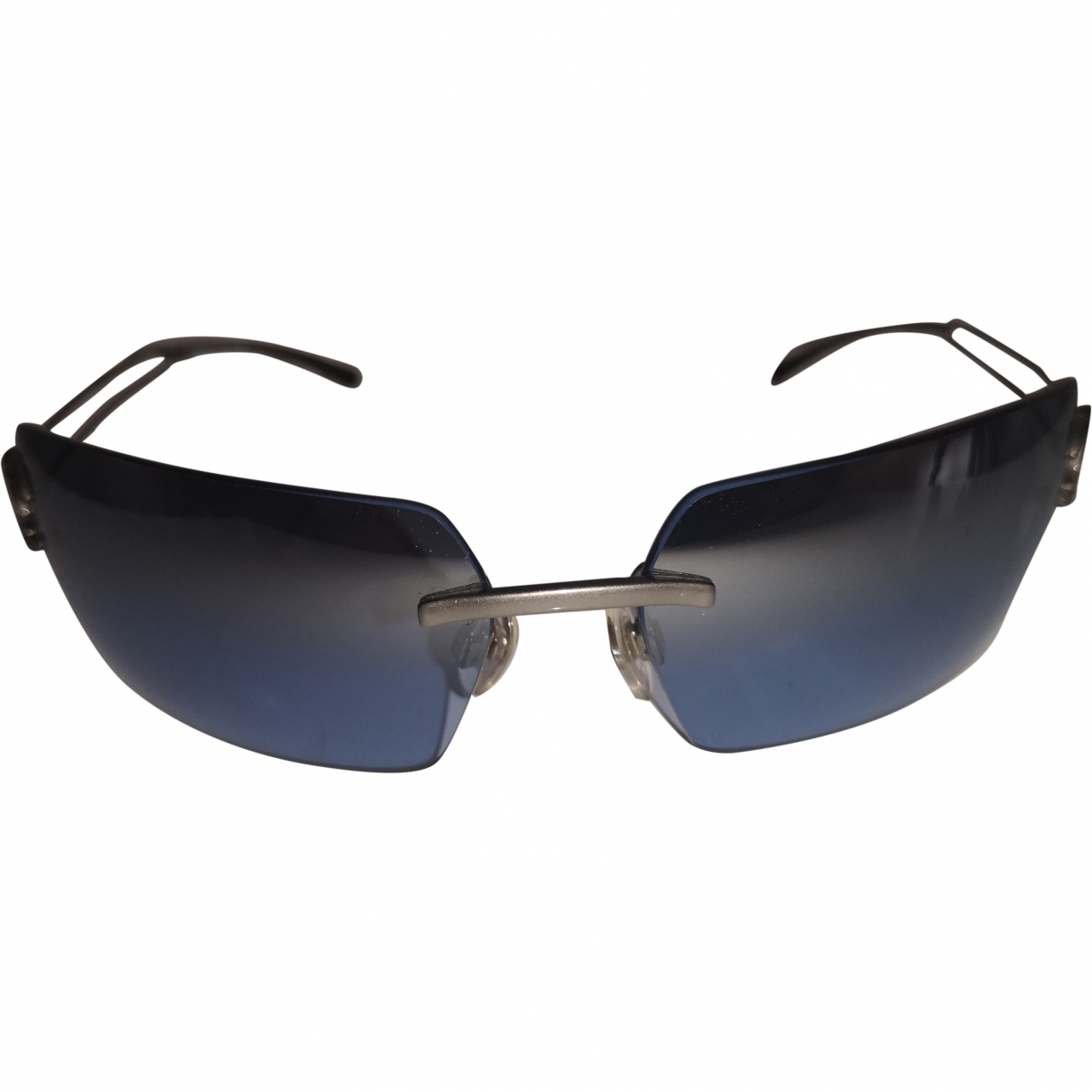 Chanel \N Blue Metal Sunglasses for Women \N