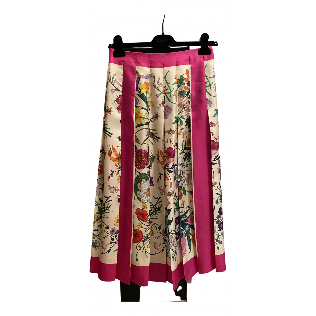 Falda de Seda Gucci