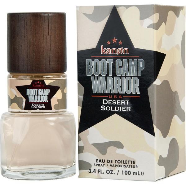 Kanon - Boot Camp Warrior Desert Soldier : Eau de Toilette Spray 3.4 Oz / 100 ml