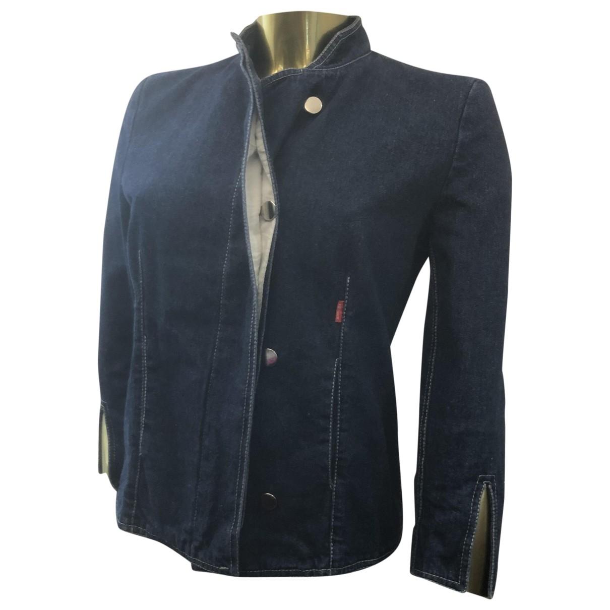 Alexander Mcqueen \N Blue Cotton jacket for Women 36 FR
