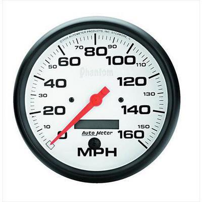 Auto Meter Phantom In-Dash Electric Speedometer - 5889