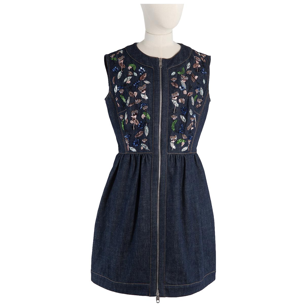 Dior \N Kleid in  Blau Denim - Jeans