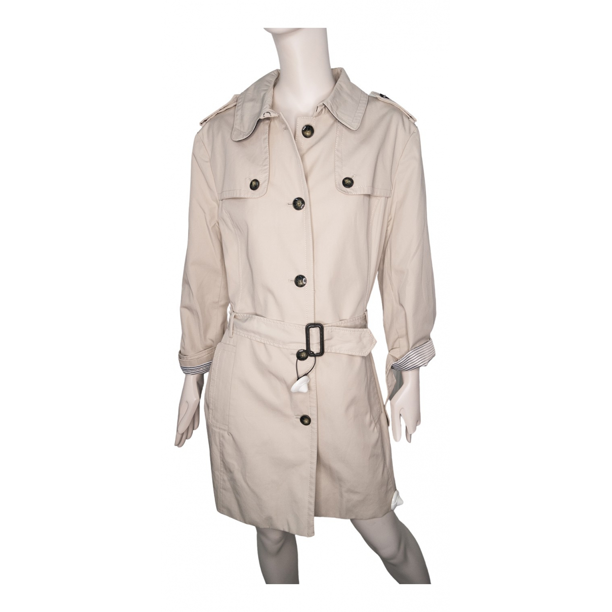 Tommy Hilfiger \N Trench in  Beige Polyester