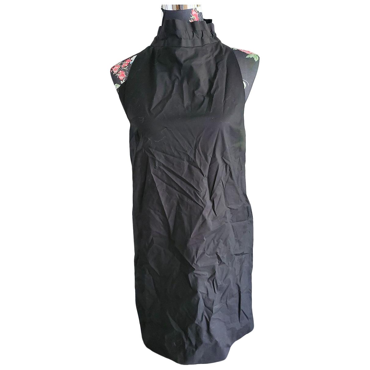 Cos \N Kleid in  Schwarz Baumwolle - Elasthan
