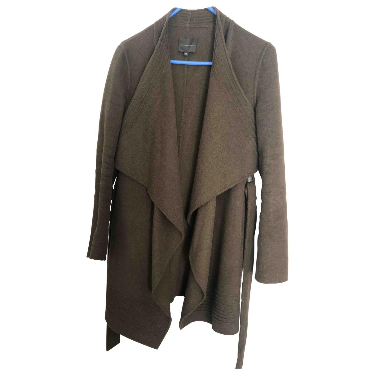 Hôtel Particulier \N Khaki Wool coat for Women 38 FR