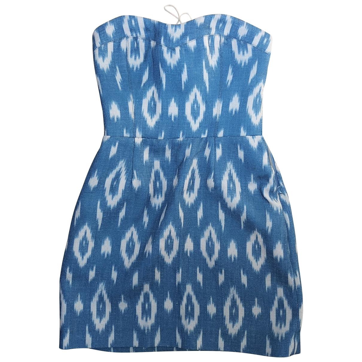 Dolce Vita \N Kleid in  Blau Baumwolle