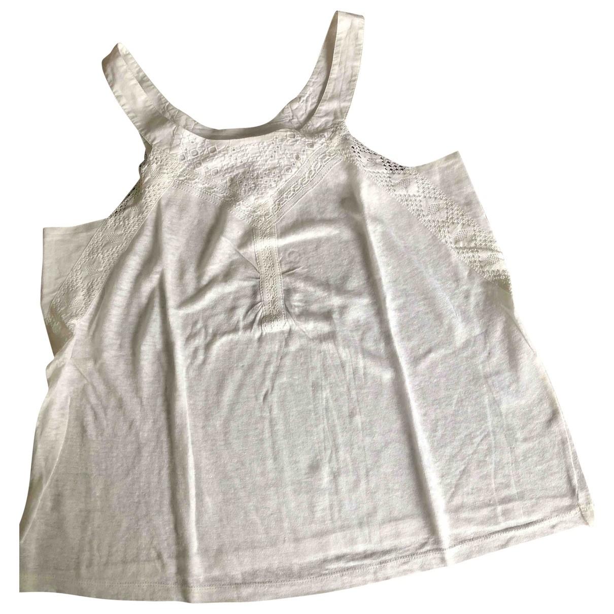 Vanessa Bruno Athe - Top   pour femme en coton - blanc