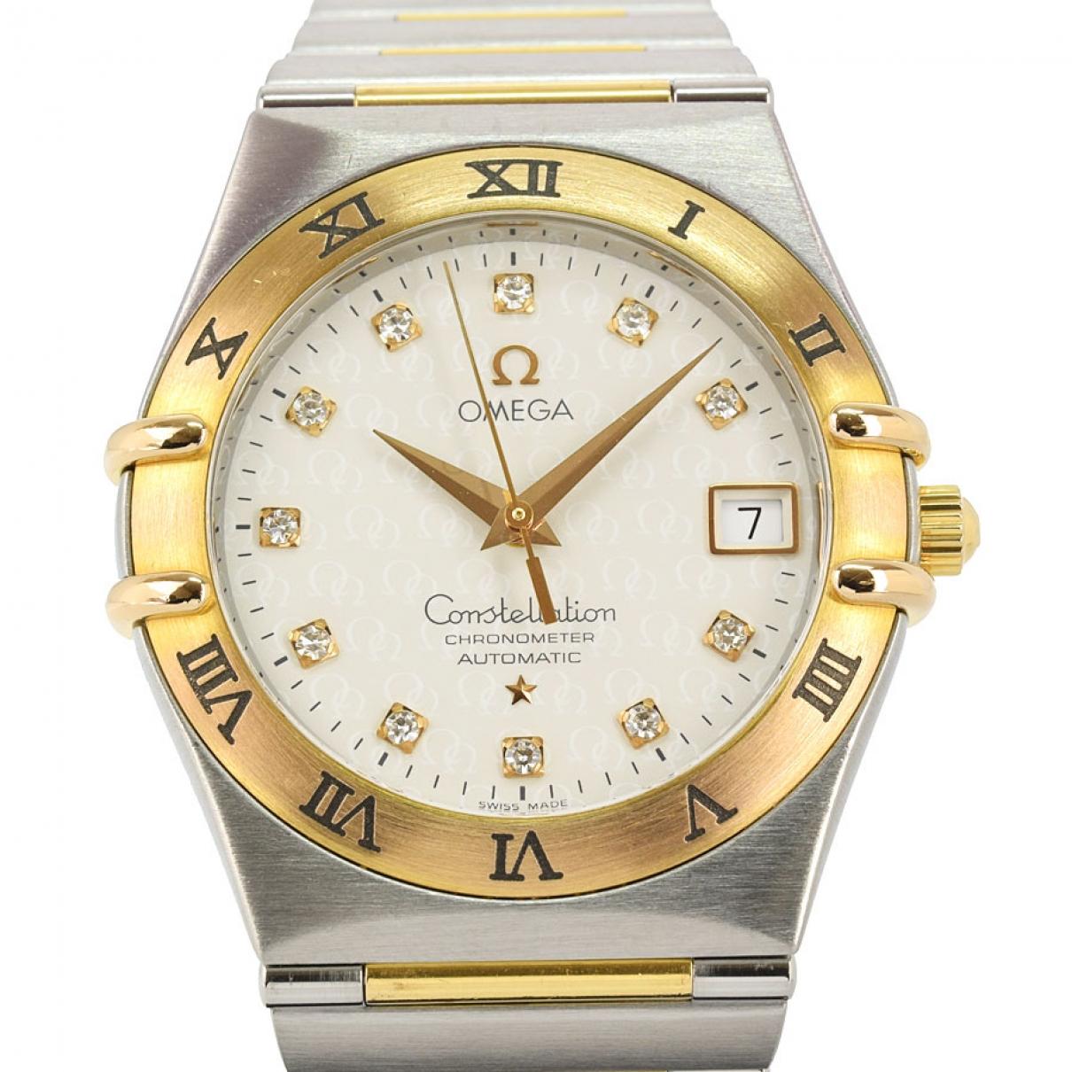 Omega Constellation Uhr in  Silber Gold und Stahl