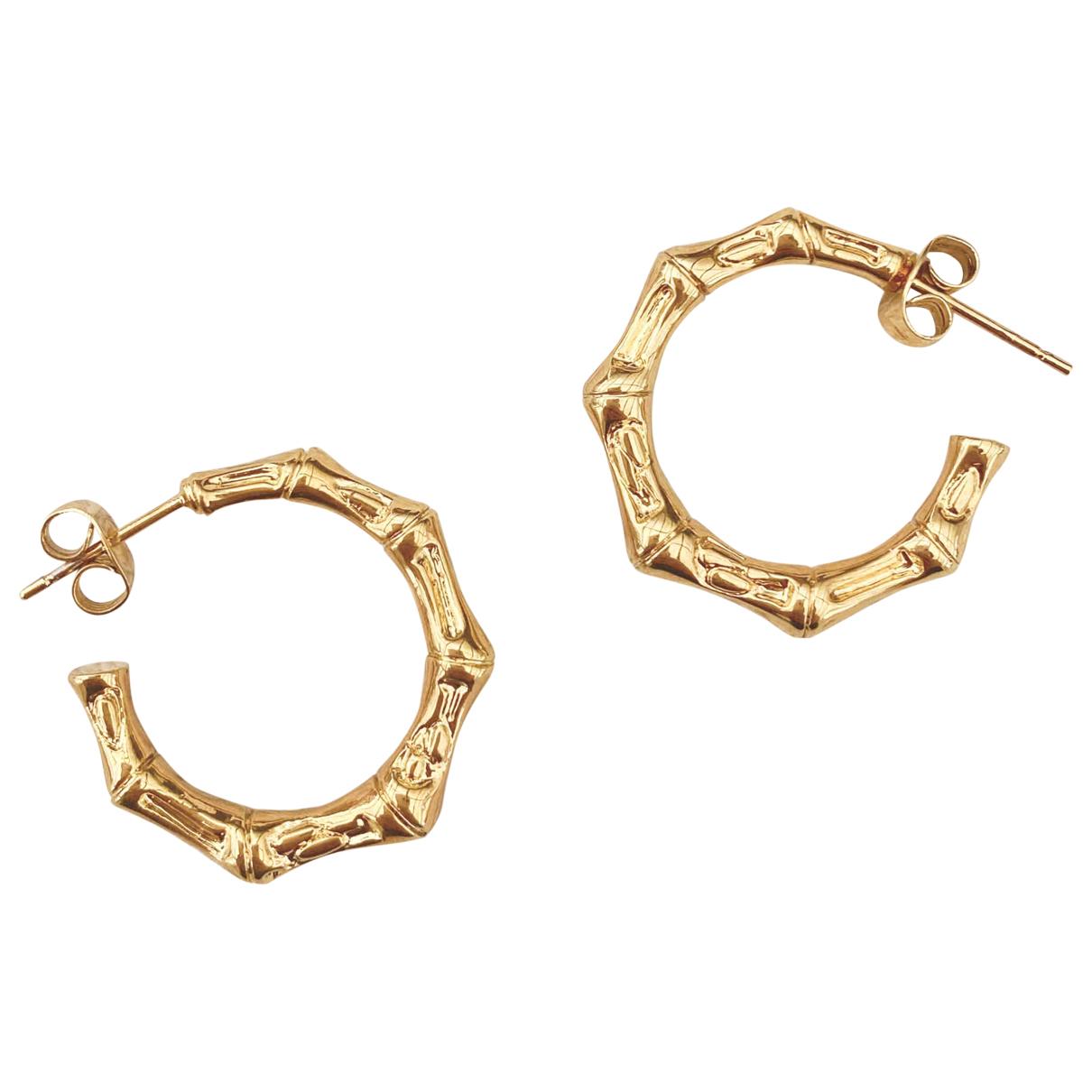 Claudie Pierlot - Boucles d'oreilles   pour femme en plaque or - dore