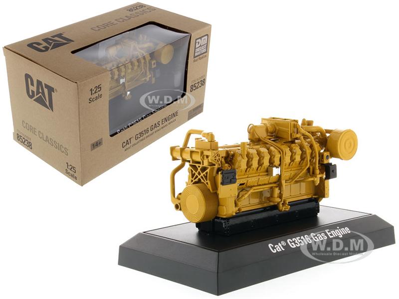 Gas Engine Core CAT Caterpillar G3516 Classics Series 1/25 Diecast Model by Diecast Masters