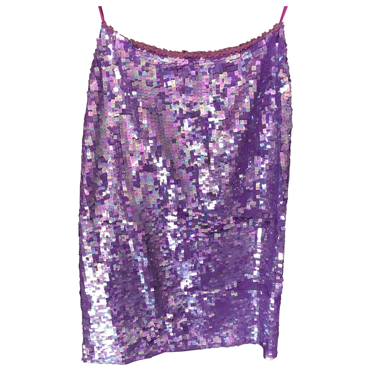 Non Signé / Unsigned \N Purple Glitter skirt for Women L International