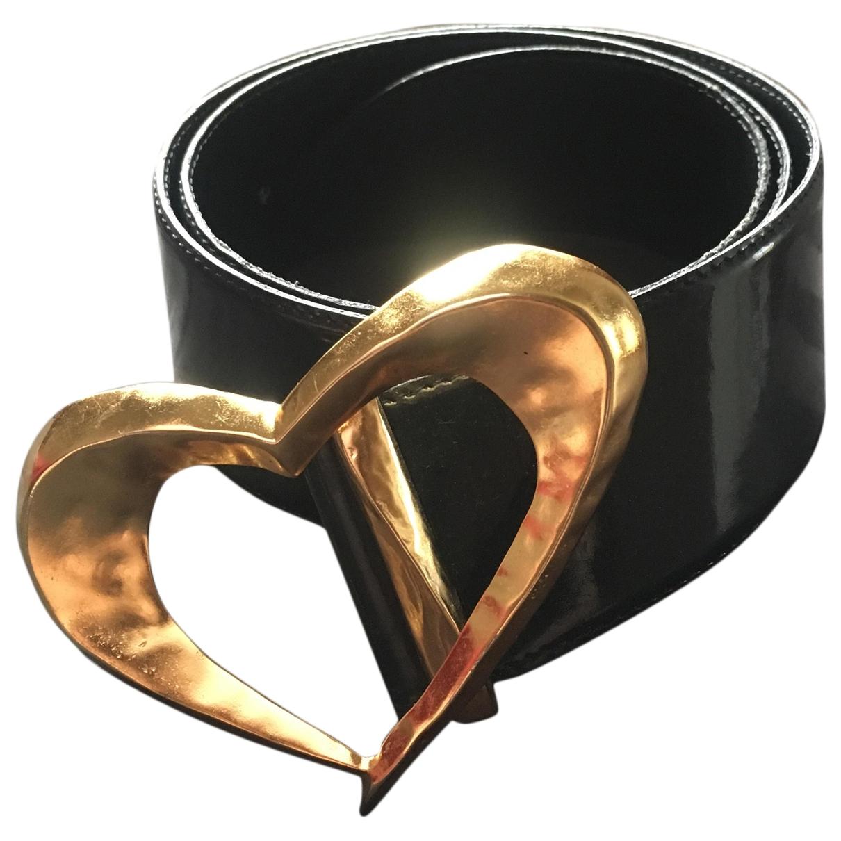 Cinturon de Charol Christian Lacroix
