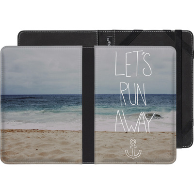 tolino shine eBook Reader Huelle - Lets Run Away - Sandy Beach von Leah Flores