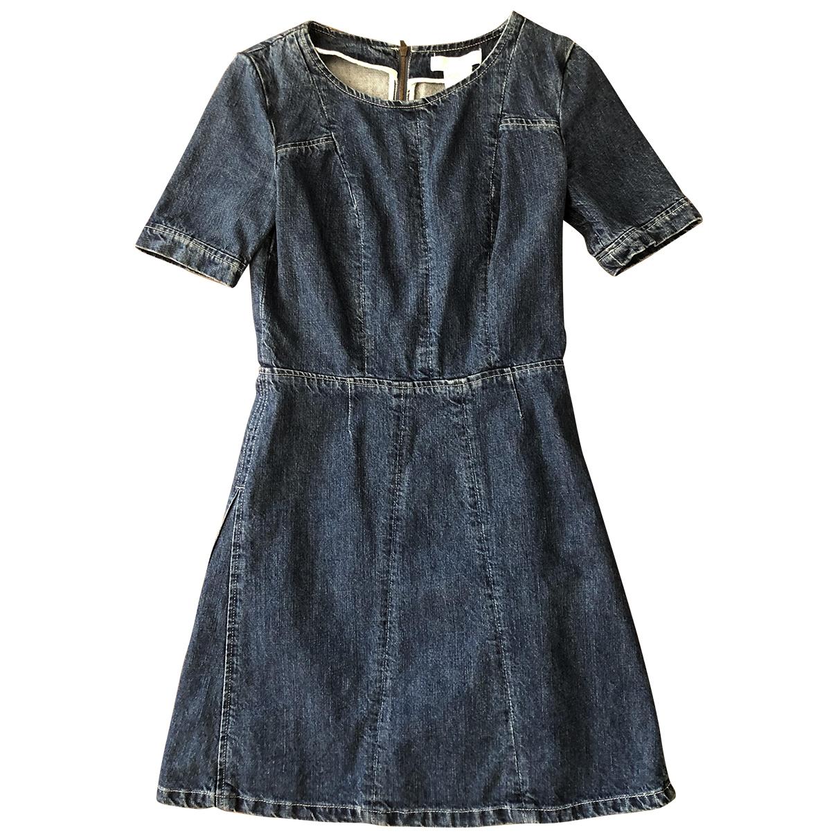 Chloé \N Blue Denim - Jeans dress for Women 36 FR