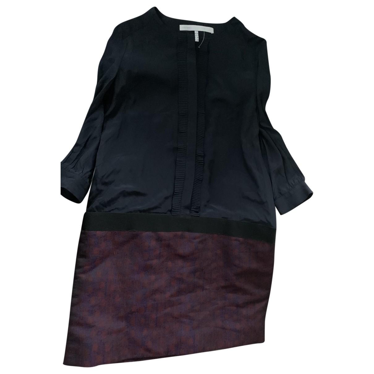 Victoria, Victoria Beckham - Robe   pour femme en soie - multicolore