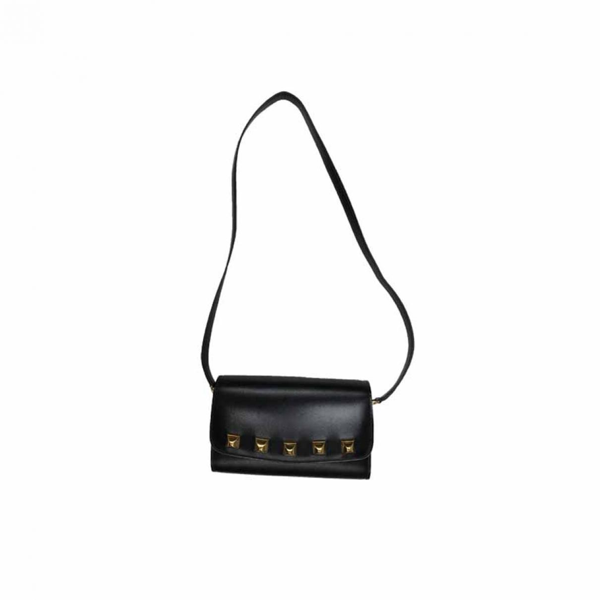 Hermes \N Handtasche in  Schwarz Leder