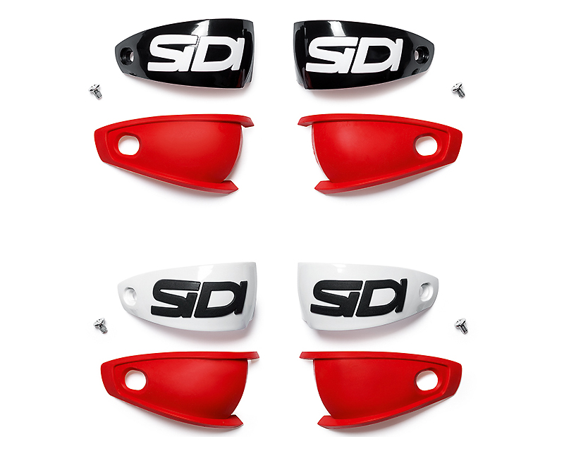 Sidi SIS-ZM1-HC-BK Boots Spare Parts Mag-1 Heel Cups (Black - One Size)