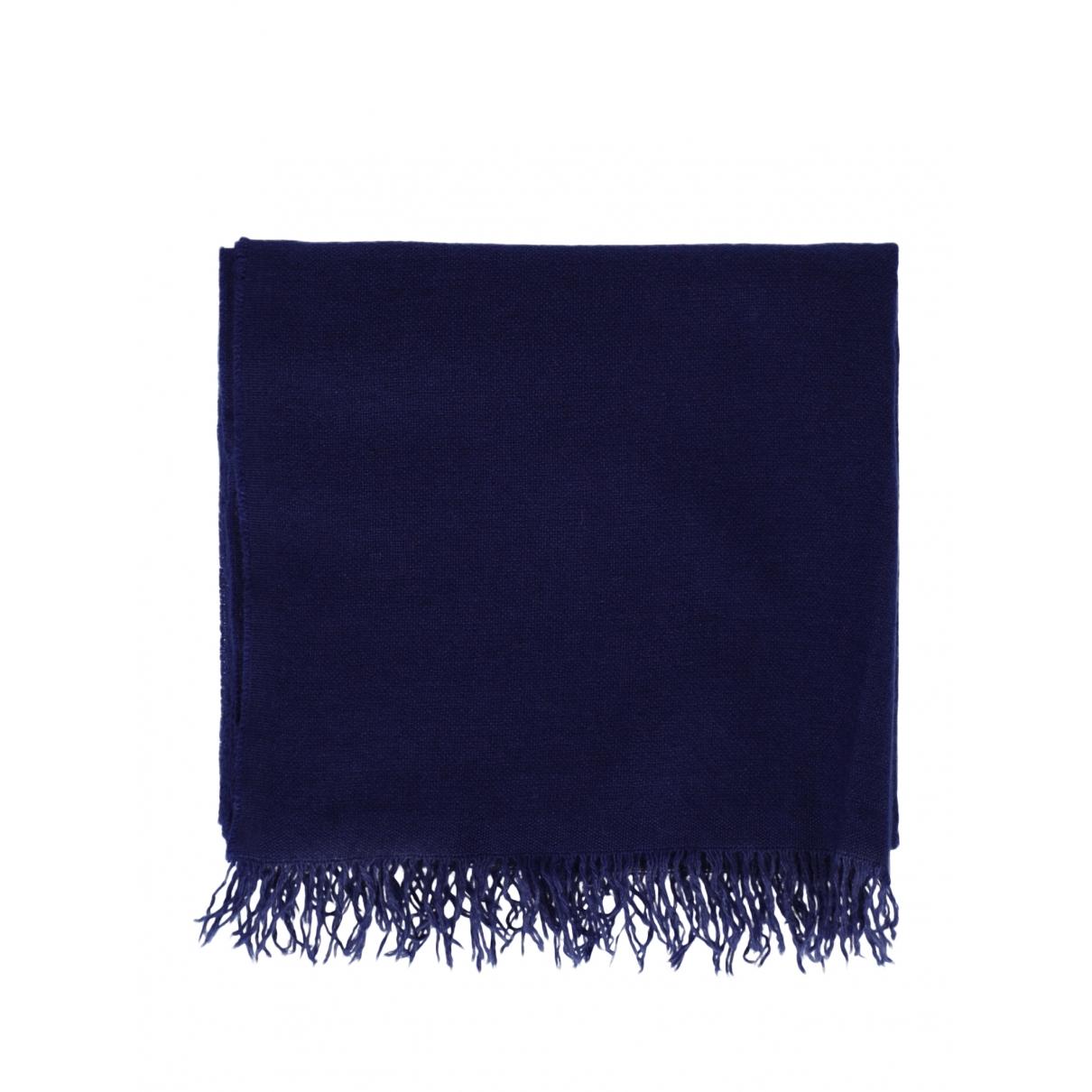 Bottega Veneta \N Schal in  Blau Wolle