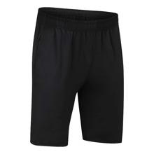Einfarbige Sports Shorts mit elastischer Taille