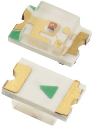 Wurth Elektronik 2 V Yellow LED 2012 (0805) SMD,  WL-SMCW 150080YS75000 (50)