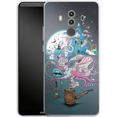 Huawei Mate 10 Pro Silikon Handyhuelle - Pipe Dreams von Mat Miller