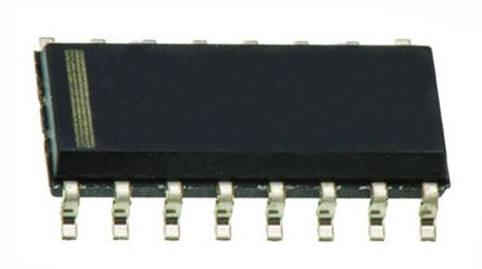Texas Instruments TPIC6C595DR 8-stage Shift Register, Serial to Serial/Parallel, , Uni-Directional, 16-Pin SOIC (5)