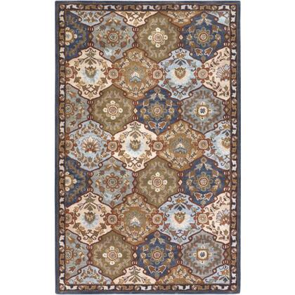 Caesar CAE-1032 6' x 9' Rectangle Traditional Rug in