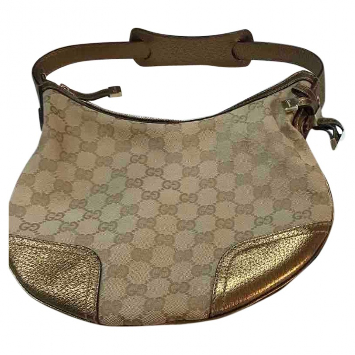 Gucci Guccy minibag Gold Leather handbag for Women N